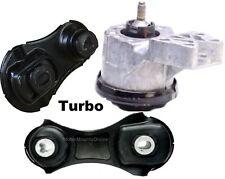 9PP163T3pc Motor Mounts fit 3.5L Turbo 2010 - 2017 Ford Police Interceptor SEDAN