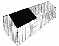 Metal Outdoor Chicken Rabbit Pet Small Animal Cage Crate Run Playpen Enclosure