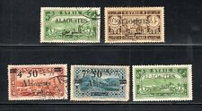 MIDDLE EAST SYRIA ALAOUITES SAR STAMPS   MINT HINGED & USED   LOT 30037