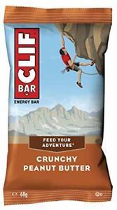 Clif Bar Energy Bars, Source of Protein, Vitamin B12 & B6, Crunchy Peanut