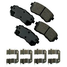Disc Brake Pad Set-Sedan Rear Akebono ACT1398