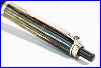 ca 1959 Pelikan 455 Kugelschreiber für KRUPS Schildpatt Braun gestreift & Gold