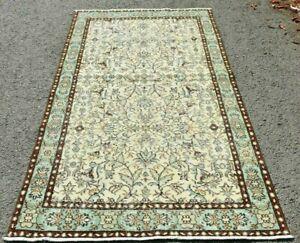 Turkish Rug Cappadocia Handmade Anatolia Ethnical Weave Wool Medium Carpet 4x7ft