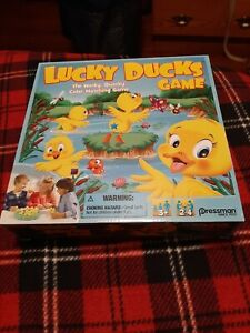 Pressman Lucky Ducks The Memory and Matching Game brand new with batteries.