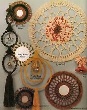 Bells & Mirrors Home Decor Patterns - Craft Book: Macrame Things in Rings