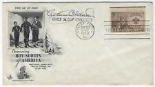 1950 CHIEF SCOUT EXECUTIVE OF THE BOY SCOUTS OF AMERICA AUTOGRAPH ON F.D.C.