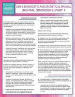 Dsm-5 Diagnostic and Statistical Manual (Mental Disorders) Part 1 (Speedy Study