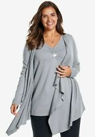 Ladies Plus Size Layered Look Tunic – Size 24 & 26