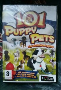 101 Puppy Pets: The Virtual Pet Game (PC CD ROM GAME) *BRAND NEW & SEALED*