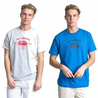 Trespass Space Mens Printed T-Shirt Short Sleeve Cotton Top