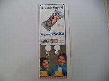 advertising Pubblicità 1967 BUONDI' MOTTA