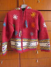 maglione cardigan etnico perù