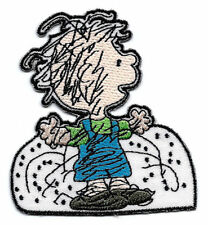 Snoopy peanuts PIG-PEN Pigpen playing in snow Embroidered Iron On / Sew On Patch