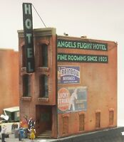 Downtown Deco HO Scale Skid Row Part 3 Building Kit + 60 Piece $25 Detail Set!