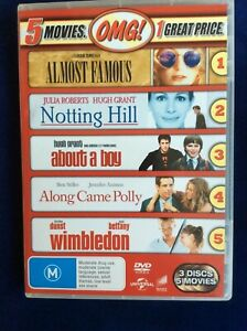 Almost Famous / Notting Hill / About a Boy / Along Came Polly / Wimbledon R4 DVD