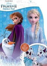 Disney Frozen Shaped Sticker Pad - 3 Sticker Sheets & 5 Fun Scenes Kids Activity