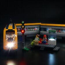 Advanced Version LED Light Up Kit For LEGO 60197 City Series Passenger Train set