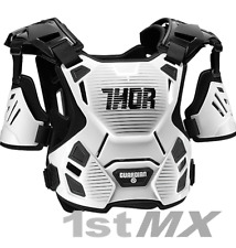 Thor Guardian Motocross Off Road Chest Protector Armour White Kids XXS XS