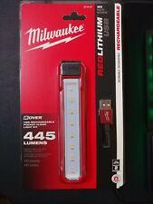 NEW Milwaukee LED Rover Rechargeable Pocket Flood Light 445 Lumens 2112-21 spot