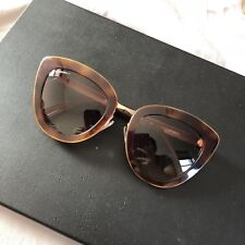 95e73fda8cf Chanel Cat Eye Tortoise Gold Sunglasses 5368 1295 S5