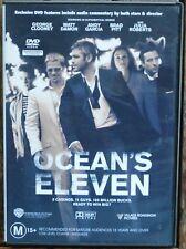 OCEAN'S ELEVEN R4 George Clooney, Matt Damon, Brad Pitt, Julia Roberts (1185 DO)