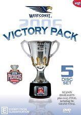 AFL Premiers 2006 West Coast Victory Pack   DVD $34.99