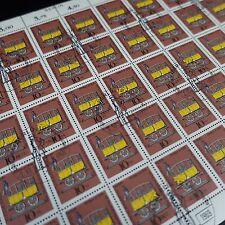 feuille sheet Bogen Deutschland berlin Nr.318 x50 1969 neuf 1. Tag first day