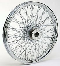 "80 SPOKE TWISTED 21"" FRONT 21 X 2.15 WHEEL HARLEY SOFTAIL FXST FXSTC 1984-1999"