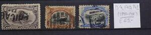 ! United States 1898-1901.   Stamp. YT#134,140,141. €65.00!