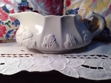 Red Cliff  Ironstone Grape Pattern Gravy / Sauce Boat   #107/ 306   9 1/4""