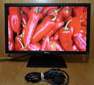"Dell 23"" inch 1920x1080 Full HD DVI VGA Widescreen Monitor with stand"