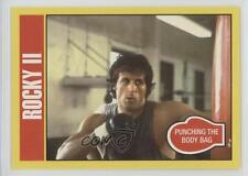 2016 Topps Rocky 40th Annivesary 44 II Punching the Body Bag Non-Sports Card 0w6