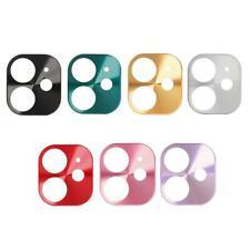 Titanium Alloy Phone Camera Lens Protective Case for iPhone 11 Phone Accessories