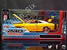 Maisto Prorodz 1:24 1969 Dodge Cargador R/T Amarillo American Muscle Nueva En Caja