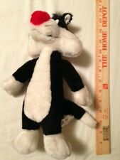 Looney Tunes/Warner Bros/Six Flags (1999) Sylvester the Cat Plush (USED)