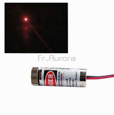 3-5V 5mW Adjustable Red Laser  Module Focus Stripe Lens Laser Head Module