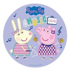 "PEPPA PIG EDIBLE 7.5"" ROUND CAKE TOPPER ICING SHEET #3"
