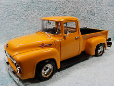 1/18 SCALE 1956 FORD STREET ROD IN MUSTARD YELLOW BY ERTL AMERICAN MUSCLE .