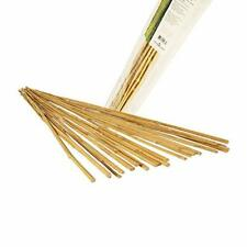 25 Bamboo Sticks Trellis Stakes for Garden Plants Support Tomatoes Peas New -4'