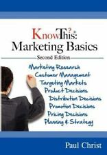 KnowThis Marketing Basics 2nd Ediition by Paul Christ (2012, Paperback)