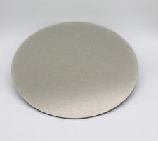"8"" 360Grit Electroplated Diamond Flat Lap Lapidary Polishing Glass Facetor"