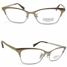 Coach Terri HC 5041 9002 Sand Eyeglasses 53mm New Authentic Free Shipping