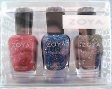 ZOYA Custom 3-pc Gift Set~PICK ANY 3 POLISHES, Pixie PixieDust or Reg Colors NIB