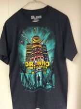 Dr Who and the Daleks Tshirt Graphic tees Studio Canal TV merchandise Mens S