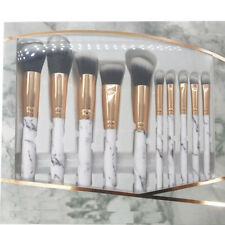 10pcs Profession Makeup Brushes Set Powder Eyeshadow Soft Eyeliner Lip Brush