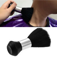 Barber Stylist Hair Cutting Hairdressing Brush Neck Duster Cleaning Black SH