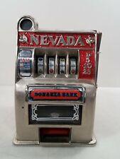 New ListingNevada Bonanza Slot Machine Coin Bank