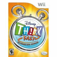 Disney Think Fast Nintendo Wii For Wii Very Good 9E
