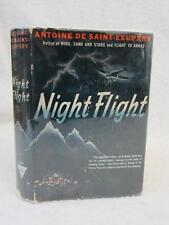 Antoine De Saint-Exupery NIGHT FLIGHT Triangle Books 1942 Dust Jacket