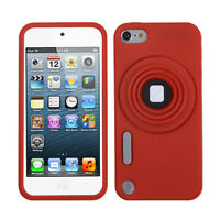 For iPod Touch 6 6th Gen Rubber SILICONE Soft Gel Camera Skin Case Cover